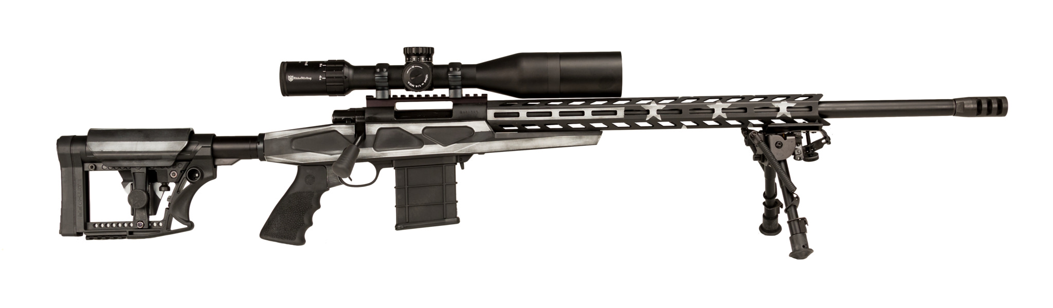 apc rifle usa chassis howa rifles assembled decorated